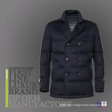 2017 European Bulk Wholesale Men's Goose Down Soft Shell Winter Warm Jacket