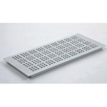 Ventilación de aire de aluminio plateado anodizado