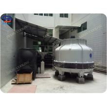 Runder Kühlturm mit FRP Gehäuse zum Verkauf