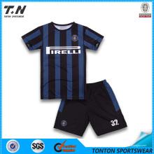 Nuevo diseño personalizado Material Professinal Jersey Soccer