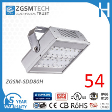 Module Designed 80W LED Tunnel Light with 5 Years Warranty