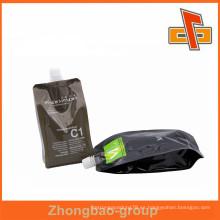 Resistente al ácido y resistente a los alcalinos bolsa de nylon Bolsa Wth Spout para productos de aire