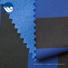 Экологичная одежда повседневная печать синяя вязаная ткань