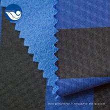 Tissu tricoté bleu décontracté d'impression de vêtements écologiques