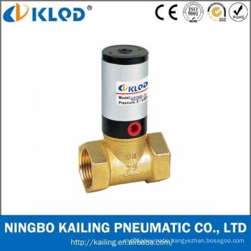Q22HD-25 2/2 Way Piston Type Brass Material Pneumatic Flow Control Valve