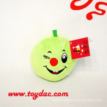 Plush Cartoon Apple Key Ring