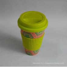(BC-C1039) Eco Bamboo Fiber Coffee Cup avec impression