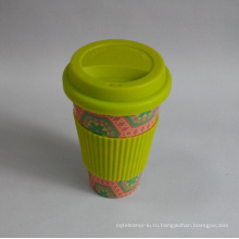 (BC-C1039) Эко Bamboo кофейная чашка волокна с печатью