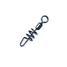USSW026 cheap fishing tackle rolling fishing swivel with screwed snap