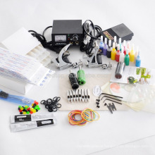 Professional Fashion Tattoo Machine Kit,Tattoo Kits, with 2 guns grips inks etc