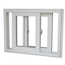 Schiebefenster im amerikanischen Stil UPVC mit Moskitonetzen