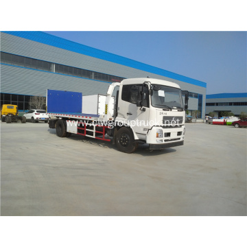 Dongfeng new style 4X2 Flatbed Tow Truck Wrecker