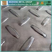 Plus de 10 Ans Fabricant De La Chine Anti-Slip 2117aluminum Damier Plaque avec Meilleur Prix