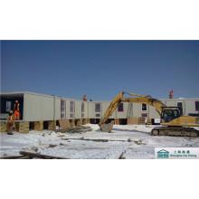 Container Mobiles Haus für Baustellenbüro und Arbeiterarbeitsunterkunft