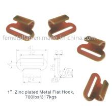 Steel Flat Hook, Trailer Part, Truck Part (FE-FH008)