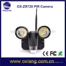 Melhor venda de produtos na América iluminação de segurança ao ar livre 720p com câmera e função wi-fi