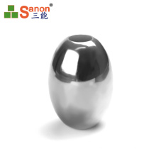 SS304 / 316 AISI Standard Drilled Hole Stainless Steel Oval Hollow Balls 50.8mm
