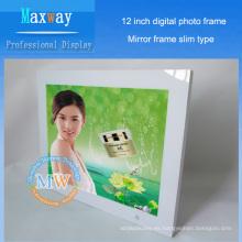 4: 3 resolución 800x600 delgado 12 marco de imagen digital