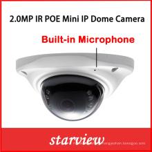 2.0MP Mini Built-in Microphone CCTV Digital Security Network Web IP Camera