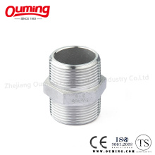 Stainless Steel Male Screw Thread Hexagon Nipple