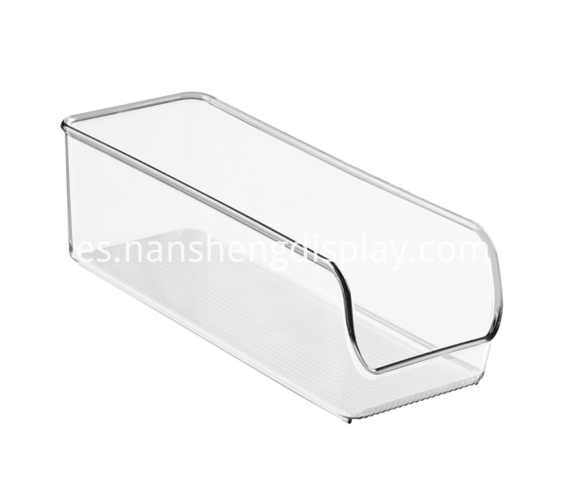 Clear Acrylic Kitchen Organizer Bins