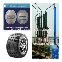 TMTD (no CAS NO.:137-26-8) pour les produits chimiques en caoutchouc, société de négoce