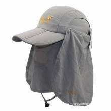 Peut plier le chapeau de pêche pour la pêche ou pour le baseball