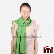 China Inner Mongolei Kaschmir Plain Solid Grün Unendlichkeit Schal Schals (rot / off weiß / blau)