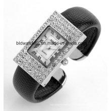 Montres faites sur commande de bracelet de bracelet de mouvement du Japon dames