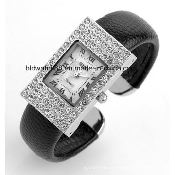 Custom Made Japan Movement Bangle Wrist Watches Ladies