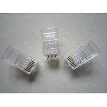 Fabriqué en Chine shenzhen manufactory amp rj45 jack connector cat6, rj45 male cat6 connector PC material
