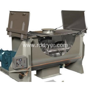 Dry Powder Mixer Machine Horizontal Double Layers Ribbon Type