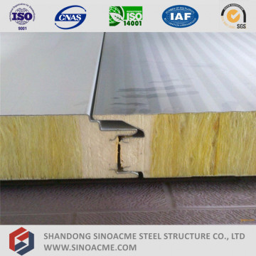 Rock Wool Sandwich Panel Manufacturer