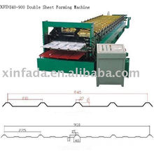 Double-deck forming machine