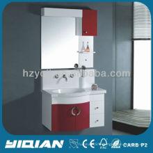 Nouveau design suspendu pvc ensemble de meubles de salle de bain moderne