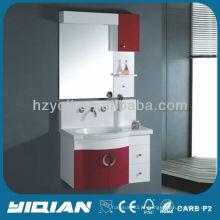 Novo design suspenso pvc banheiro mobiliário conjunto moderno