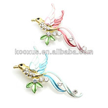 Bird couple Sweethearts lovers brooch jewelry wholesale