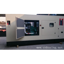 Гуанчжоу 260kVA водяного охлаждения Звукоизолированные переменного тока 3 фазы двигателя Volvo дизельный генератор