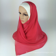 Fashion beading hijab scarf silk muslim scarf