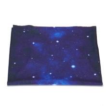 Solid star seamless polyester hair bandana scarf