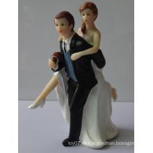 3D Personalizada Recuerdo De La Boda De PVC De Acción Plástica Muñeca De La Figura Juguetes