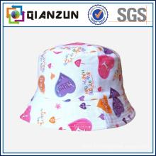 Цветная печатная обратимая ведро шляпа