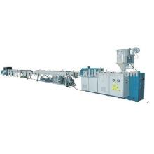 Línea de extrusión de tubería de suministro de agua fría / caliente PPR