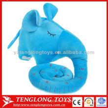 La historieta caliente del crecimiento del bebé de la venta relleno el juguete 120cm de Elephan Charts de la altura