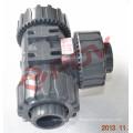 3-х полосная л / т пластиковые ПВХ шаровой клапан ручка