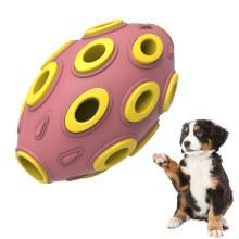 Резиновый дозатор для лакомства из анемона Прочная игрушка-головоломка для собак