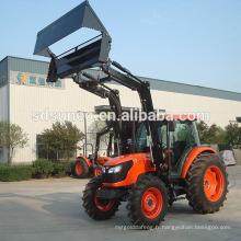 Mini chargeur de tracteur / chargeur agricole avec tondeuse