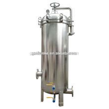 Caja barata industrial del cartucho de filtro de agua del acero inoxidable