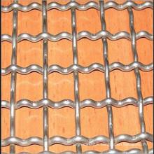 Grillage galvanisé décoratif à galets (TYE-26)
