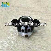 cuentas hechas a mano animales de cristal de murano para pulseras